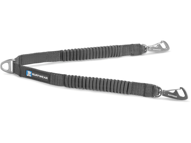 Ruffwear Double Track Coupler Longe, granite gray